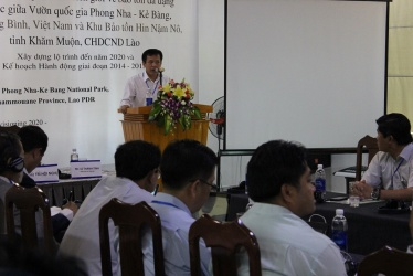 Transboundary Cooperation Workshop between Phong Nha – Ke Bang National Park – Hin Nam No Protected Areas